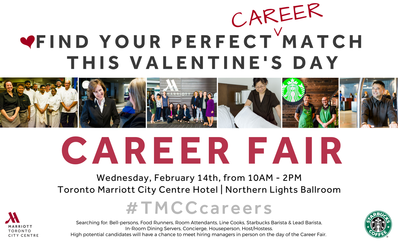 Visit Our Career Fair On February 14th At The Toronto